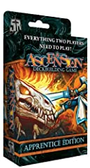 Ascension: Apprentice Edition is the perfect tool to teach new players how to play Ascension, or to have a convenient and portable version of Ascension to take on the go! Featuring the robust gameplay that Ascension is known for in a convenie...