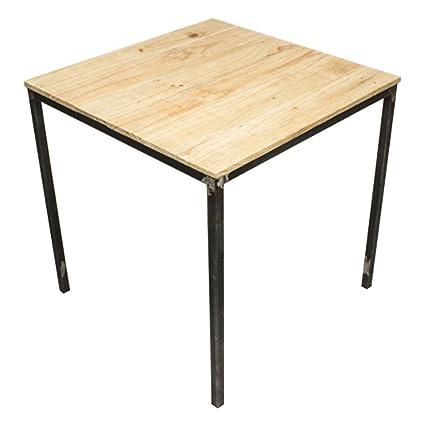 C-cubo Eco Design - Tavolo Acer in ferro e legno: Amazon.it: Casa e ...