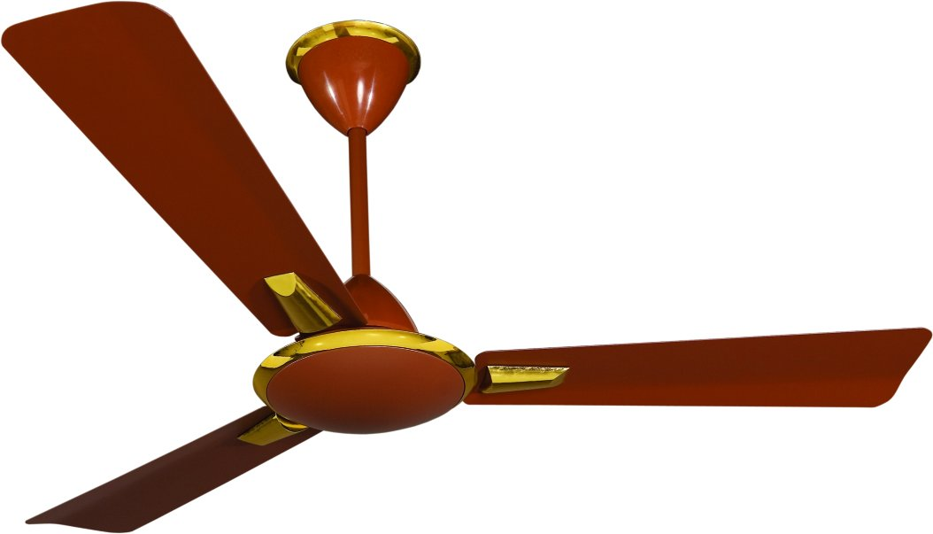 Crompton Aura 48-inch Anti-Dust High Speed Ceiling Fan (Brown Delux)