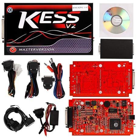 Diagnostic Tool Kess V2 V2 23 V2 47 Manager Tuning Kit Kess 5 017 Master  KTAG 7 020 Kess V5 017 KTAG V7 020 Color Kess red PCB Full