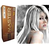 MG705 Hair Colour Permanent Hair Cream Dye Punk Emo Goth Cosplay Silver Titanium Blonde NEW by Dcash Master