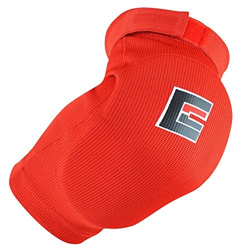 Combat Corner Muay Thai Elbow Pads Red Large/X-Large