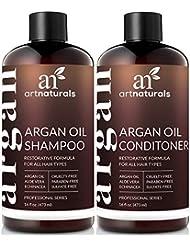 ArtNaturals Organic Moroccan Argan Oil Shampoo and Conditioner...