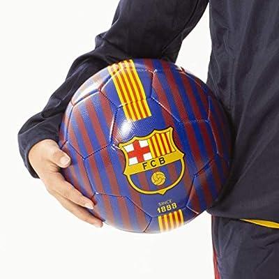 FCB FC Barcelona - Balón de fútbol, diseño de Rayas, tamaño 5 ...