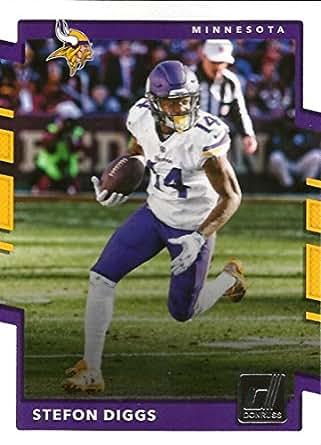 bd0bd6203d5 Amazon.com: 2017 Donruss #285 Stefon Diggs Minnesota Vikings ...