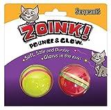 Sergeants 07664 Kitty Glow Balls 2 Count