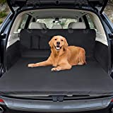 Car Boot Liner Protector Winipet Waterproof Boot Protector Mat Dogs Cover Mat Trunk Dog Blanket Car Protective with Side Protection, 180x103 cm Anti-Slip Scratch Dust Hair for Car Van and SUV Trucks