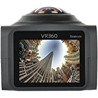 FSTgo VR 360 Panorama Action Camera H.264 1440P 1080P 30FPS 8MP Full HD 1.5 Inch LCD Screen Sports Video IP Camera + Wifi APP IOS Waterproof 220° Large Lens Mini DV Player