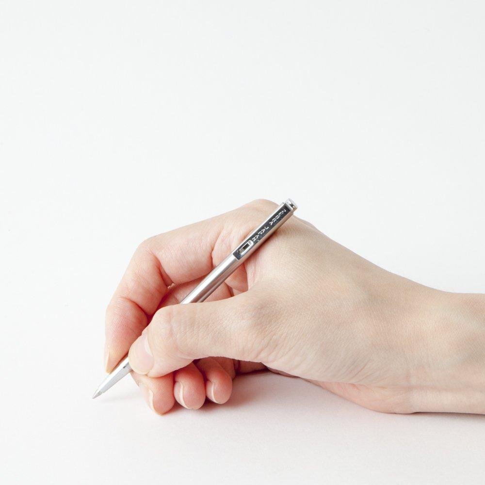 T Zebra Mini 3/Kugelschreiber T silber 3/ schwarze Tinte T-3 silber