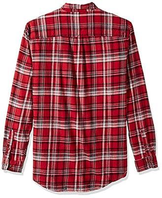 G.H. Bass & Co. Men's Tall Size Big Fireside Flannel Plaid Long Sleeve Shirt