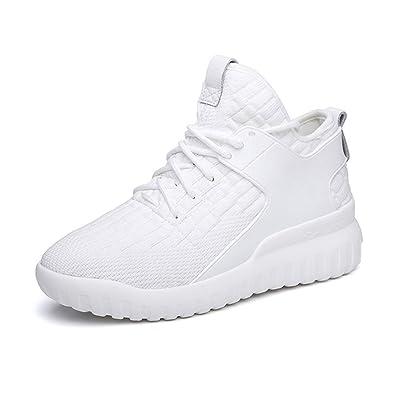Chaussures de sport pour femmes, Fitness Shake Shoes Printemps, Été Automne en tricot Chaussures de sport Chaussures de sport Chaussures de course anti-dérapantes résistantes à l'usure Chaus