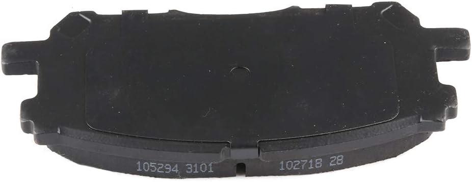 AUTOMUTO Front Rear Ceramic Brakes Pads Set fit for 2007-2009 Lexus RX350,2006-2008 Lexus RX400h,2006-2007 Toyota Highlander,2004-2006 Lexus RX330