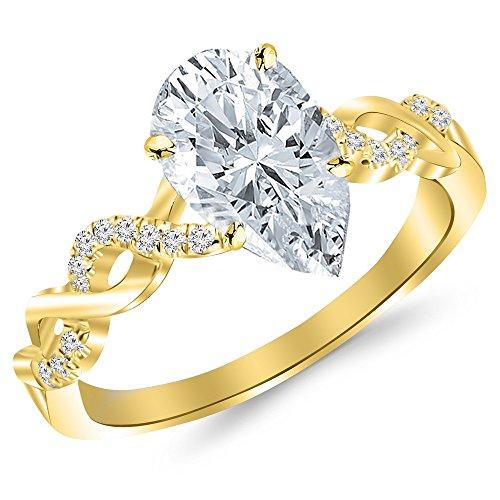 0.63 Ct Tw Diamond - 7