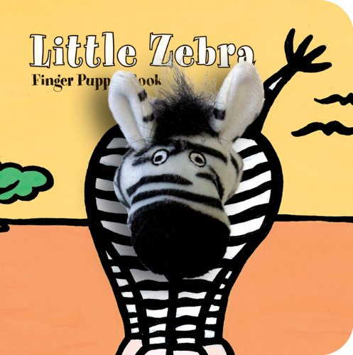 Little Zebra: Finger Puppet Book (Little Finger Puppet Board Books) ()