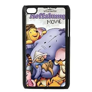ipod 4 Black phone case Classic Style Disney Cartoon Piglet's Big Movie WHD8978578
