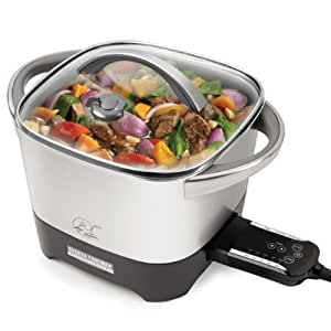 George Foreman RC0995P 20-Cup Smart Kitchen Multicooker with Intelli-Probe Digital Controls