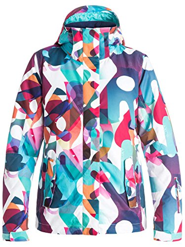 Produttore S Jetty Motivo Del taglia Blu Donna Colore Roxy Sci Taglia S Farfalle Multicolore giacca Da Odqwvgv