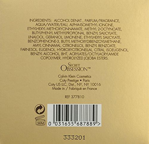 031655687889 - Secret Obsession By Calvin Klein For Women. Eau De Parfum Spray 1.7 Oz / 50 Ml. carousel main 1