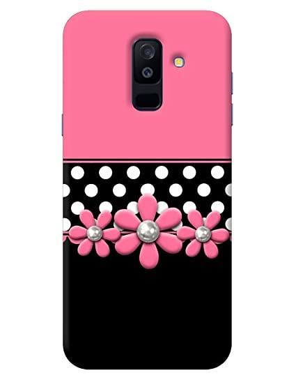 timeless design da6cd c6452 FurnishFantasy 1173 Back Cover for Samsung Galaxy A6 Plus (Pink)