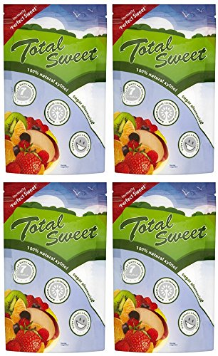 (4 PACK) - Total Sweet - Total Sweet Xylitol Sweetener | 225g | 4 PACK BUNDLE by Total Sweet