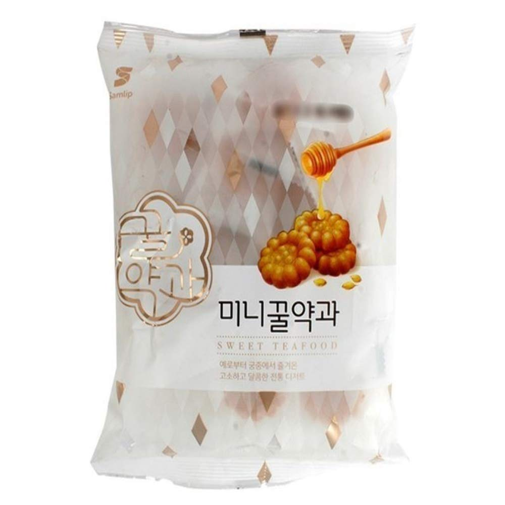 Korean Sweet Tea Food Mini Honey yakgwa Traditional Snaks Dessert 200g