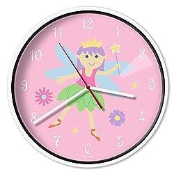 Wildkin Wall Clock, Fairy Princess