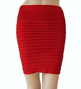 42taille de rouge 34 Femme Crayon niceEshop Jupe l wkX8On0P