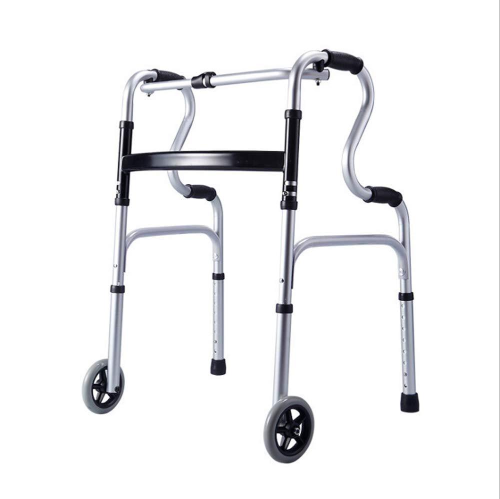 品質満点 アルミ合金携帯用折りたたみ式歩行器、高齢者用障害物4本足歩行スティック車、重量180kg   B07KT1GN1H, 【 新品 】:4e5d815b --- a0267596.xsph.ru