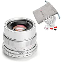 7artisans 35mm F2 Manual Focus Prime Fixed Lens Full Frame Available for Sony Emount Cameras - Silver