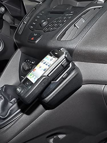 Kuda 095375 Leather Mount Black Compatible with Ford F-150 Since 2015