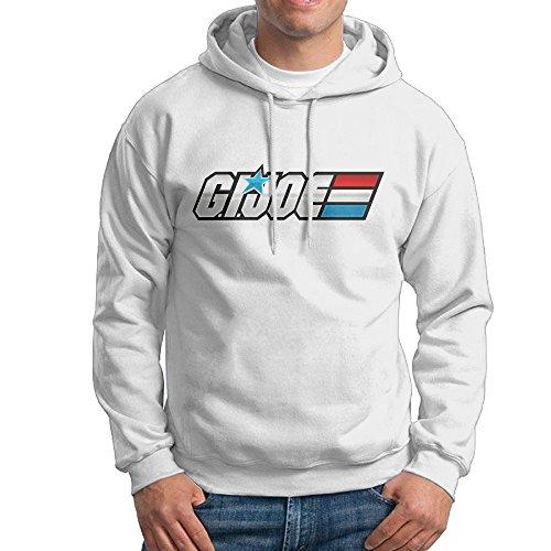 GI Joe Logo Men's Cool Hooded Sweatshirt Sweatshirts