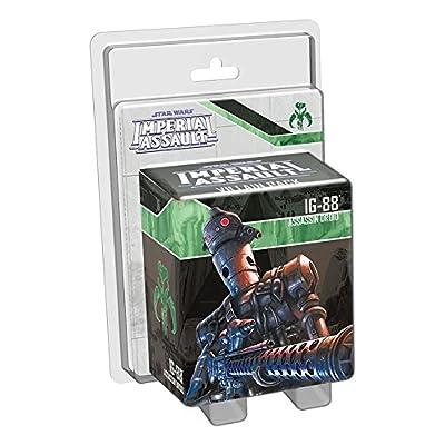 Star Wars: Imperial Assault - IG-88 (Assassin Droid) Villain: Fantasy Flight Games: Toys & Games