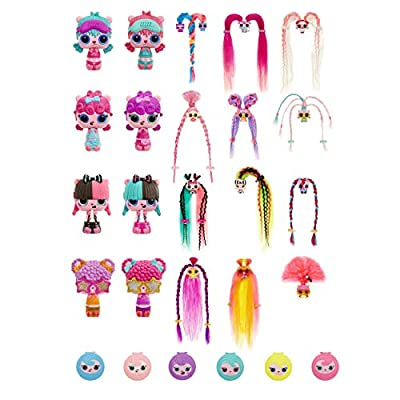 Pop Pop Hair Surprise 3-In-1 POP Pets with Long, Brushable Hair (multicolor): Toys & Games