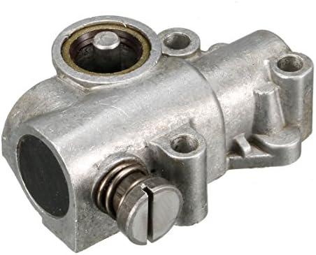 Bomba de aceite para las ruedas de engranaje recto 381 para STIHL motosierra tono Plata: Amazon.es: Coche y moto