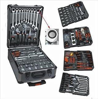Kraft M.A.N. - Caja de herramientas (186 piezas, con llaves ...