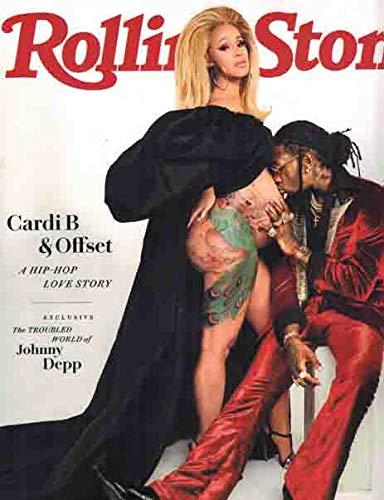 Rolling Stone Magazine (July, 2018) Cardi B & Offset Cover ebook