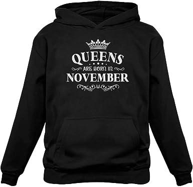 March Woman A Queen was Born in March Great March Queen Birthday Gift Unisex Hoodie Men//Women