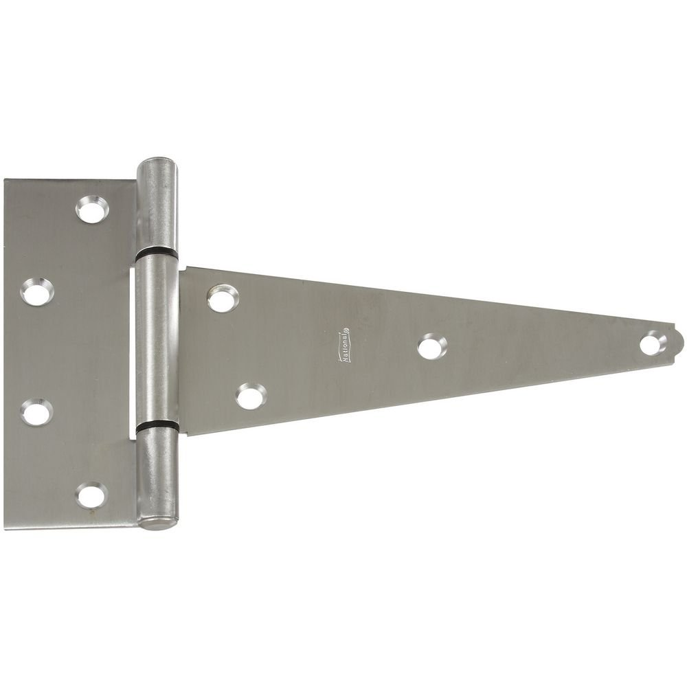 National Hardware N342-824 BB285 Extra Heavy T Hinge in Stainless Steel by National Hardware