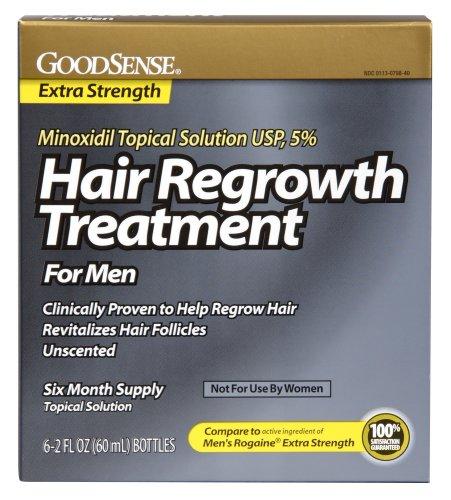 Sens Minoxidil topique Solution 5% repousse des cheveux traitement, 12 Fluid Ounce