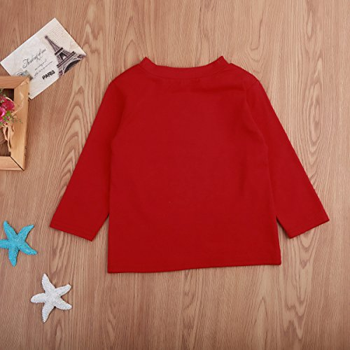 toddler little boy christmas t shirt family xmas sweater infant letter tops