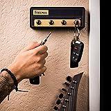 Friedman Jack Rack Guitar Amp Key Holder | Hang Your Keys Like A Rockstar | By Pluginz Key Chains (BE-100 & 4 Key Rings)