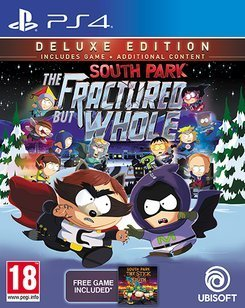 South Park  The Fractured But Whole Deluxe Edition  Ps4  Uk Import Region Free