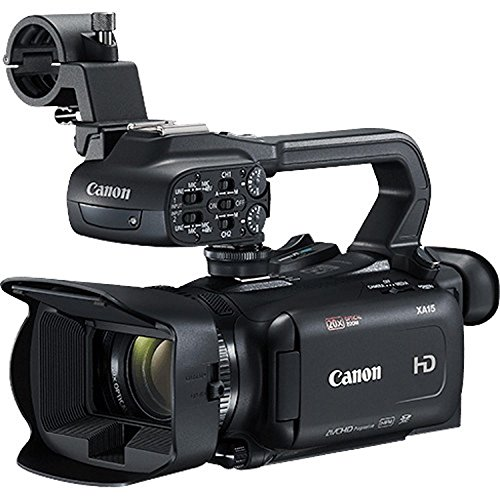Canon XA11 Compact Professional Camcorder - Full HD with HDMI and Composite Output - Bundle with 64GB Memory Card + More by Canon (6AVE) (Image #2)