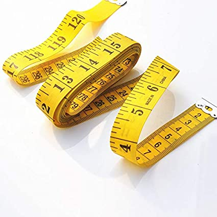 2 Pack Tape Measure Measuring Tape for Body Fabric Sewing Tailor Cloth Knitting