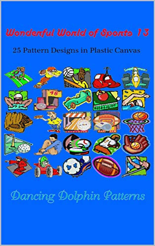 Football 13 Embroidery - Wonderful World of Sports 13: 25 Pattern Designs in Plastic Canvas