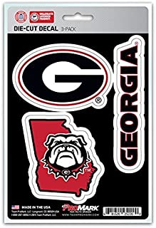 product image for NCAA Georgia Bulldogs Team Decal, 3-Pack