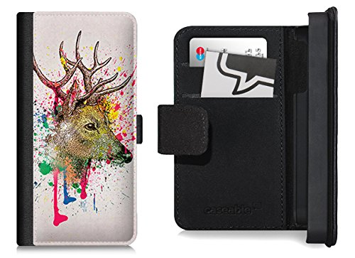 Design Flip Case für das iPhone 6 Plus - ''Splatter Deer'' von Mark Ashkenazi