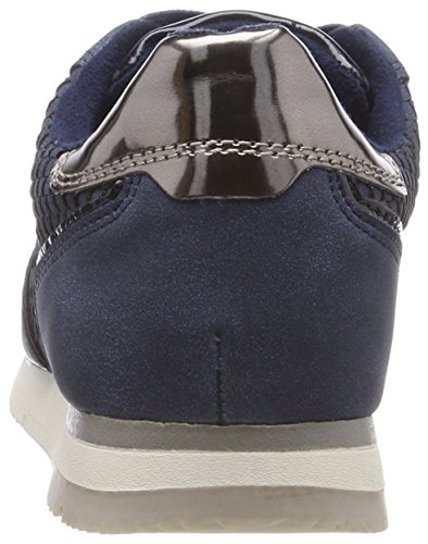 23601 Denim Blau 853 Sneakers Damen Comb Tamaris zwUdz