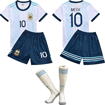 FFF Copa Mundial de Fútbol/Inicio Argentina Messi Jersey/Argentina ...