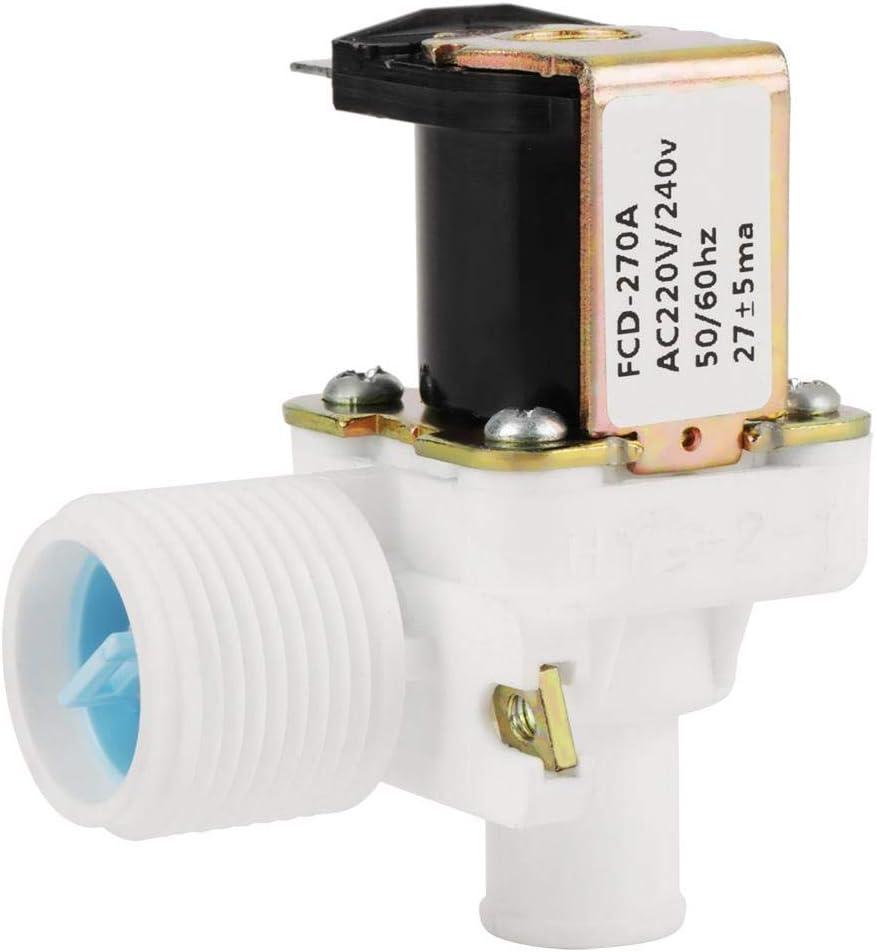 """240V BSPP Delaman FCD270A pour lave-linge 3//4 /"""" /Électrovanne /électrique CA 220V Soupape dadmission deau"""